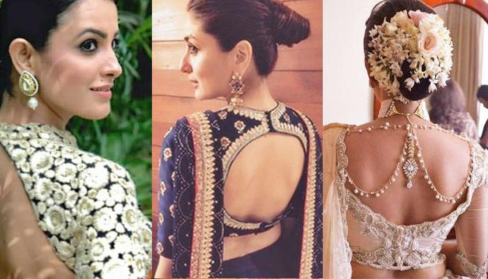8521d35c3a63b 22 Beautiful Back Designs Of Saree Blouses For Graceful Look