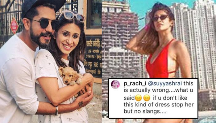 Suyyash Rai Gets Trolled For Abusive Comment On Kishwer Merchant's Bikini Post, Her Reply Is Epic!