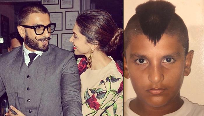Deepika Padukone's Hilarious Reaction To Ranveer Singh's Throwback Mohawk Hairdo; His Reply Is Epic