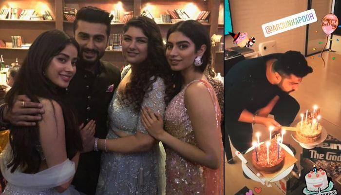 Arjun Kapoor Celebrates Birthday With Family, Janhvi Kapoor Posts A Heartwarming Wish For Him