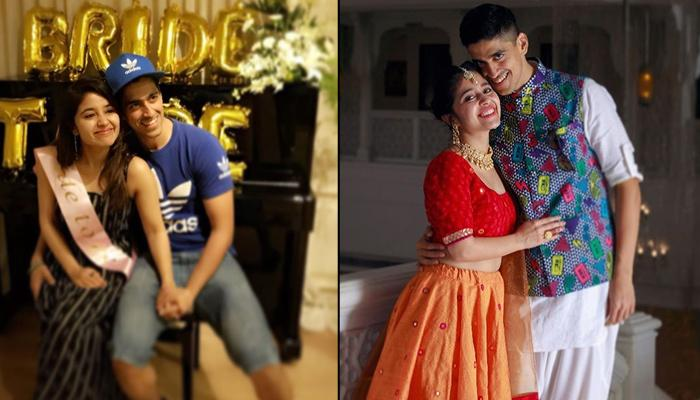 Soon-To-Be-Bride Shweta Tripathi's Bachelorette Bash Gets Gatecrashed By Her Fiance Chaitnya Sharma