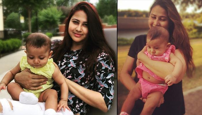 'Gangaa' Fame Panchi Bora Shares The Adorable Pictures Of Her Four-Month-Old Daughter, Riyanna