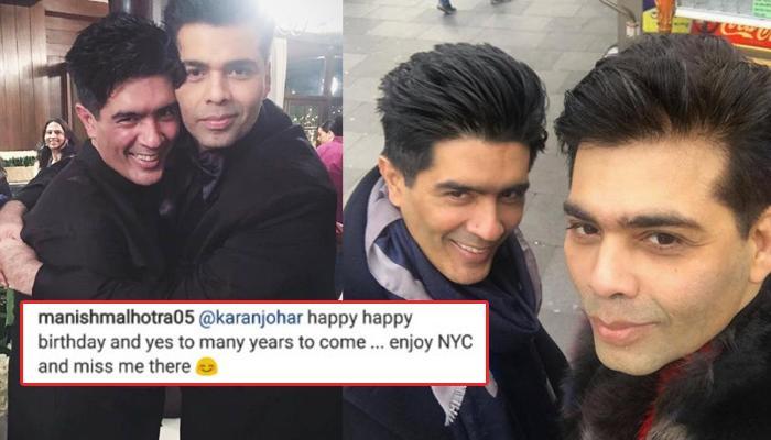 When Manish Malhotra Confirmed His Decades Long Relationship With Karan Johar