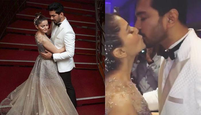 Rubina Dilaik And Abhinav Shukla's Passionate Kiss After Taking The 7 Secret Vows, Videos Inside!