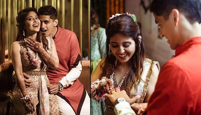 Shweta Tripathi And Chaitnya Sharma Exchange Rings In An Intimate Engagement Ceremony, Video Inside