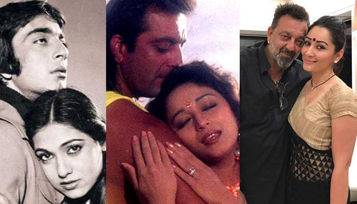 Sanjay Dutt And The Women In His Life, From Tina Munim, Madhuri Dixit To Maanayata Dutt
