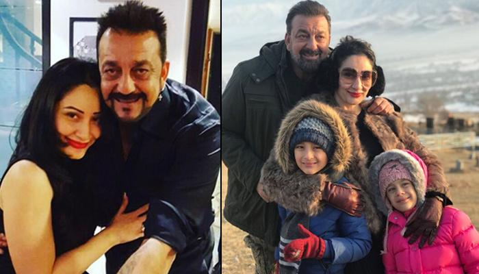 On Release Of Sanjay Dutt's Biopic 'Sanju', Wife Maanyata Shared A Picture With An Emotional Message