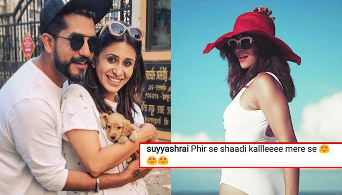Suyyash Rai Couldn't Handle Sizzling Pic Of Wifey Kishwer Merchant, Proposes Again For Marriage