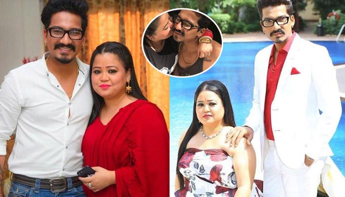 Haarsh Limbachiyaa Gives A Special B'Day Surprise To Bharti Singh, Gets Her Name Inked
