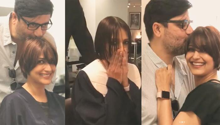 Undergoing Cancer Treatment, Sonali Bendre Gets A Short Haircut, Her Husband's Reaction Is Priceless