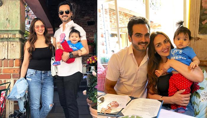Esha Deol Shares Complete Family Pictures With Daughter, Radhya Who Totally Looks Like Her Mommy