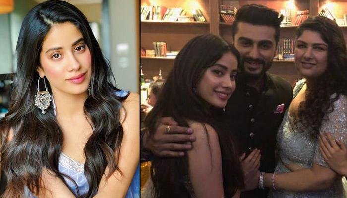 Janhvi Kapoor Feels She Could Not Have Asked For Better Siblings Than Arjun And Anshula Kapoor