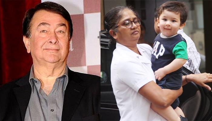 'Nana' Randhir Kapoor Says Media's Obsession For Taimur Ali Khan Has Made Even His Maid Popular