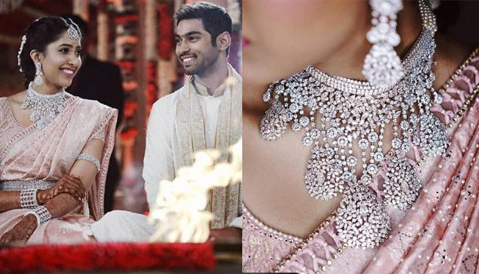 Shriya Bhupal Wore Only Diamonds At Her Wedding; Different 'All-Diamond' Look For Each Function
