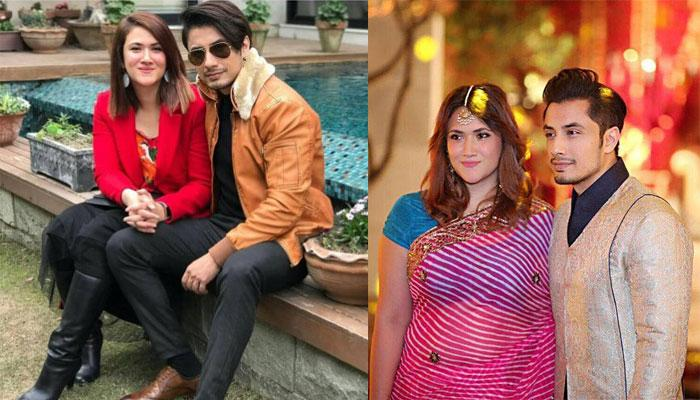 Image result for ali zafar with wife