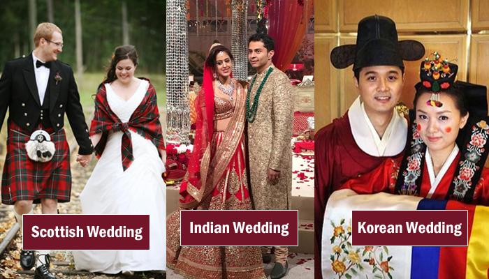 10 Different Places All Round The World And Their Auspicious Colours During The Wedding