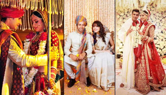 18 Indian TV Celebrity Couples Who Had Grand Weddings That Set The Bar Rather High