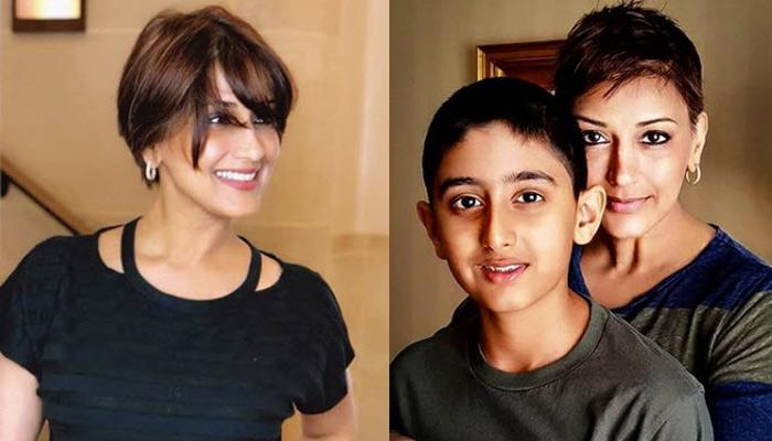 Sonali Bendre, In A Heartfelt Post, Revealed How Her Son, Ranveer Reacted To The News Of Her Cancer