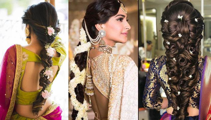 7 Types Of Gorgeous Bridal Hairstyles A Bride Can Rock If She Is Getting Married In Summers