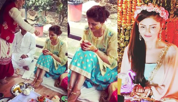 Rubina Dilaik Shares An Unseen Video From Her Pahadi Style Haldi Ceremony On Her 1 Month Anniversary