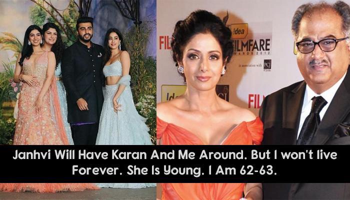 Boney Kapoor Talks In Length About Arjun-Anshula's Bonding With Janhvi-Khushi After Sridevi's Demise