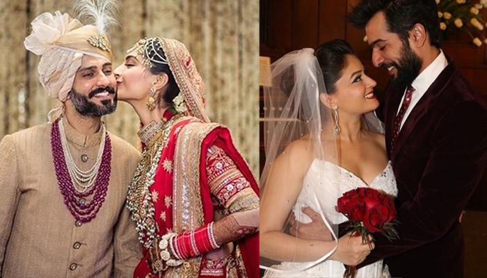 10 Strikingly Beautiful Wedding Photo Poses That We Can Steal From Celebrity Marriages