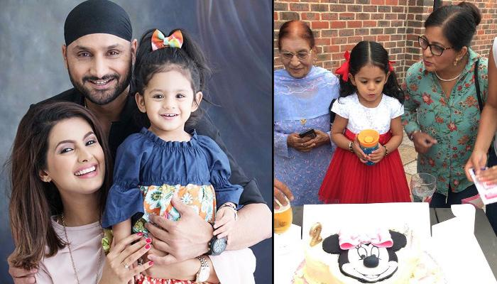 Harbhajan Singh And Geeta Basra's Daughter Hinaya Turned Two, B'day Celebration Pics-Video Inside
