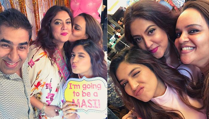 Bhumi Pednekar To Become A 'Maasi' Soon, Attends Bestie, Shaina Nath's Baby Shower, Pics Inside