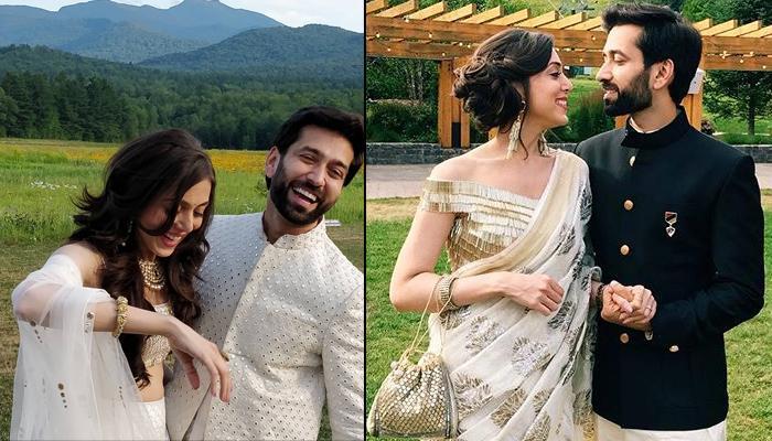 Nakuul Mehta And Jankee Parekh Mehta Give Us Major DDLJ Feels By Romancing Amidst 'Sarson Ke Khet'