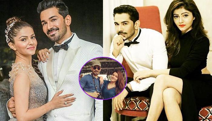 Rubina Dilaik And Abhinav Shukla Twinning In Blue At Their Romantic Post-Marriage Dubai Holiday
