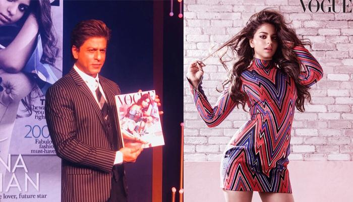 Suhana Khan sizzles on her first ever Vogue magazine cover