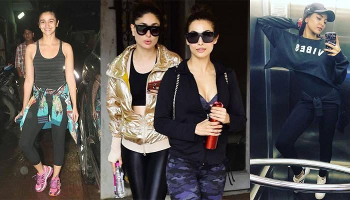 15 Bollywood Actresses And Their Stylish Gym Looks Inspire Us To Get Up, Dress Up And Workout