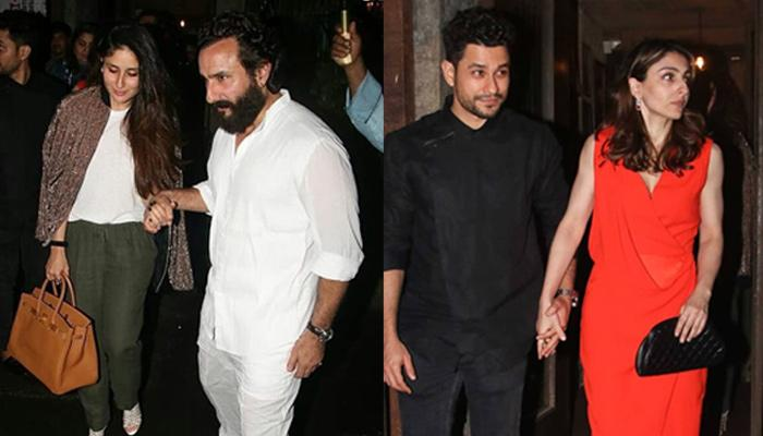 Saif-Kareena And Soha-Kunal Go On A Double Date, Both Husbands Do Something Special For Their Ladies