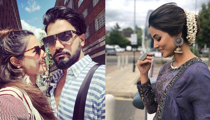 Hina Khan And Rocky Jaiswal Had The Time Of Their Life In London, Pictures Inside
