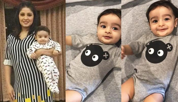 Sunidhi Chauhan Shared A Video Of Her 7-Month-Old Baby Boy, He Giggles In The Cutest Way