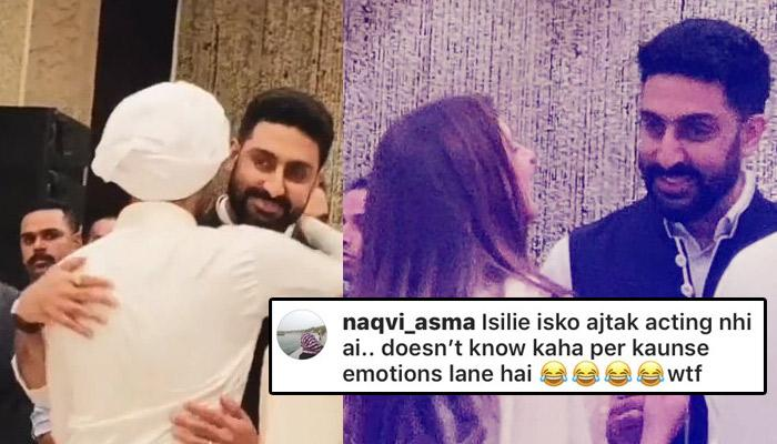 Abhishek Bachchan Gets Hilariously Trolled For Laughing At Rajan Nanda's Prayer Meet