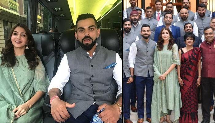 Anushka Sharma Trolled For Being With Virat Kohli In The Team India Group Picture Shared By BCCI