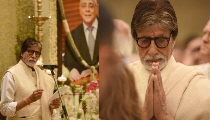 Amitabh Bachchan's Emotional Note After Shweta Nanda's Father-In-Law, Rajan Nanda's Prayer Meet
