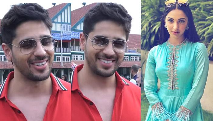 Sidharth Malhotra Blushes Like Never Before When Asked About His Relationship With Kiara Advani