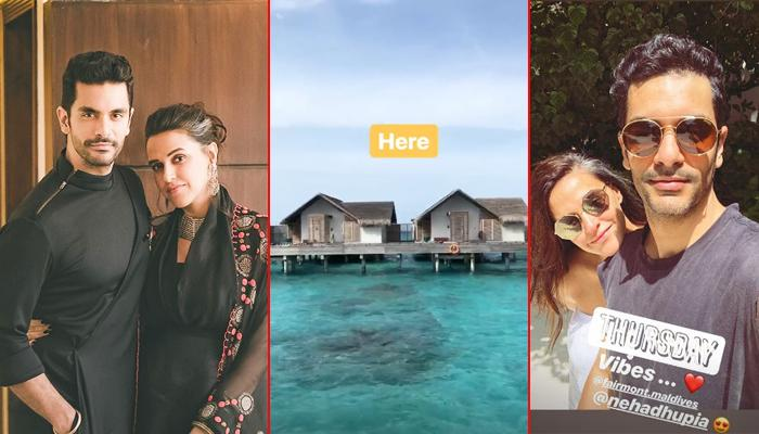 Neha Dhupia And Angad Bedi Are Honeymooning In This Beach Destination, Pics Inside