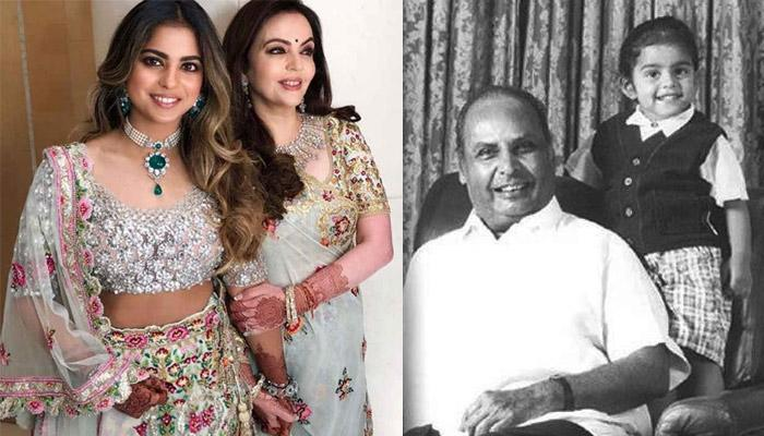 Isha Was Her 'Daadu' Dhirubhai Ambani's Favourite, There's One Thing He Would Never Forget For Her