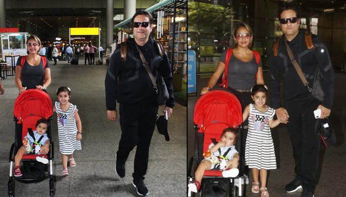'Heyy Babyy' Fame Fardeen Khan Spotted At The Airport After A Long Time With Family [Video Inside]