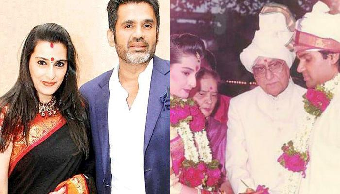Together For 30 Yrs Now, Sunil And Mana Shetty Had To Wait For 9 Yrs To Get Married, Cute Love Story