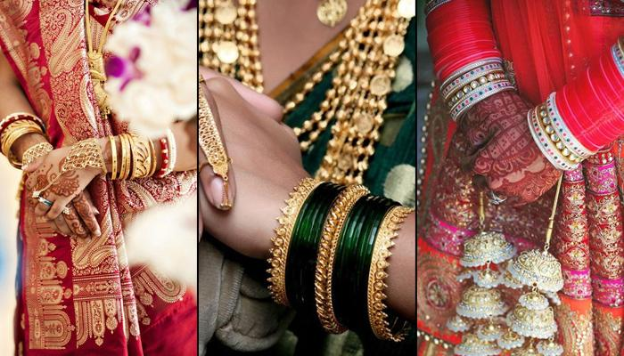 b7a43ba77cf67 9 Different Colours Of Bangles For Indian Brides To Justify The ...