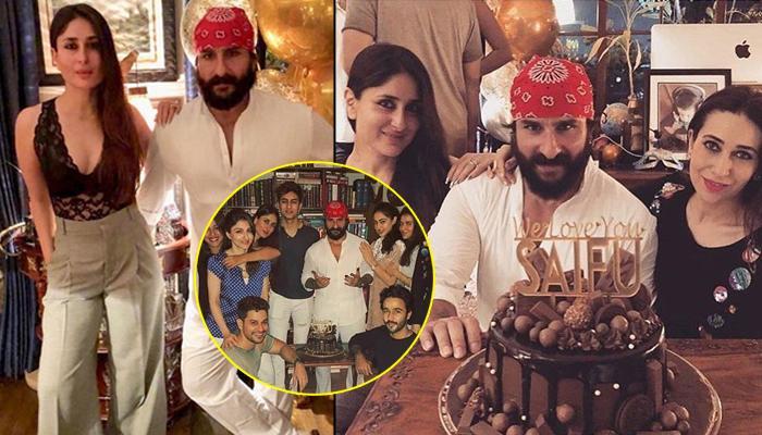 Kareena Kapoor Khan Celebrates Hubby Saif Ali Khan's Birthday With Step-Children, Sara And Ibrahim
