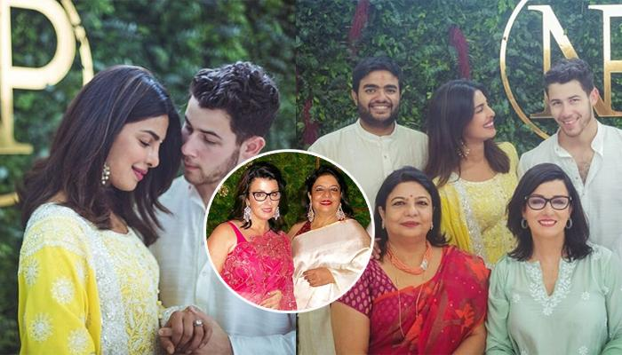 Priyanka Chopra And Nick Jonas' 'Saasu-Maas' Share A Lovely Moment At The Engagement Party