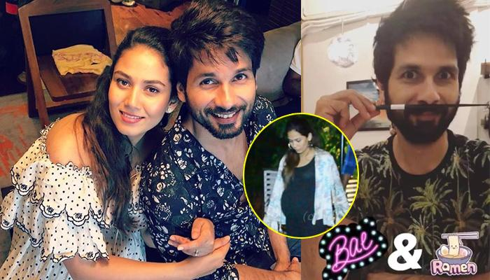 Soon-To-Be Mommy Mira Rajput Kapoor Flaunts Her Baby Bump On A Dinner Date With Hubby Shahid Kapoor
