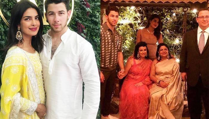 Priyanka Chopra Embraces Her In-Laws Sweetly, Kisses Her Father-In-Law's Cheeks, Pic Inside!