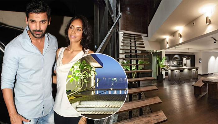 John Abraham And Priya Runchal's Penthouse: True To Its Name, It's A Villa In The Sky