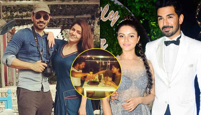 Rubina Dilaik And Abhinav Shukla Celebrate Two-Month Anniversary With A Dinner Date, Shares Picture